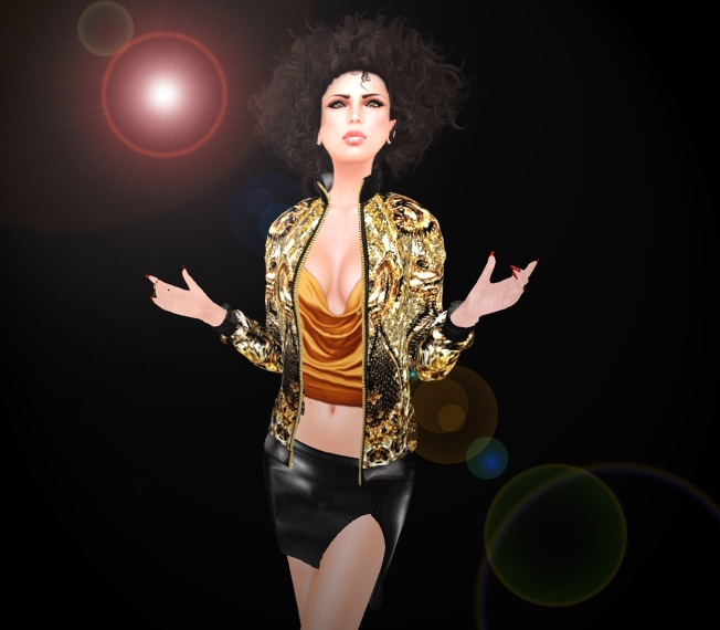 KL Couture Jacket, Skirt & Top