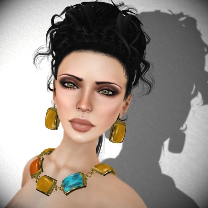 Lazuri Kaya Collection 2 and Shellac Monochrome Copper Makeup