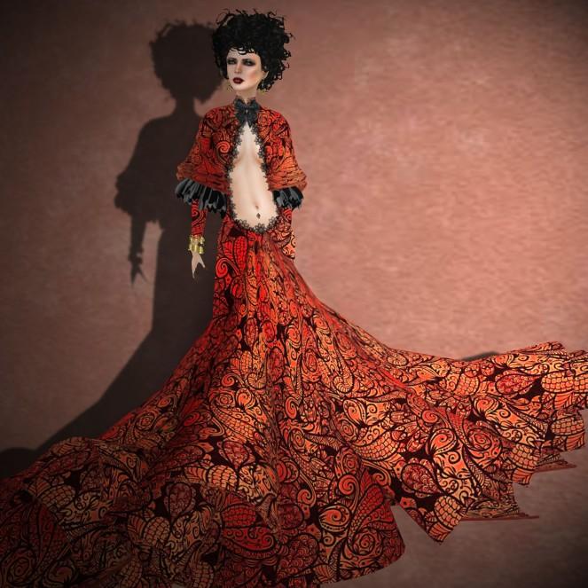 Romance Couture Boheme Glow Gown