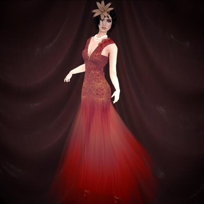 Romance Couture Serene Plum & Elysium - Greta flower hat