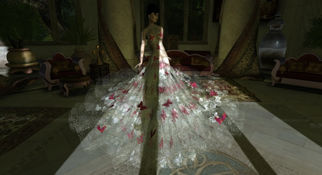 Romance Couture Fragile II Flower Gown