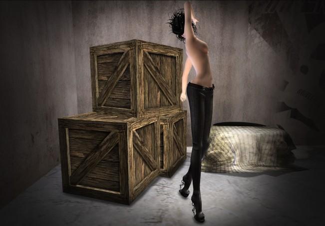 Yasum Steampunk Leggings b