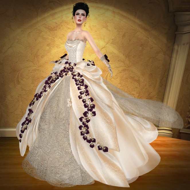 Romance Couture Miss V Belize 2014 MVW Gown