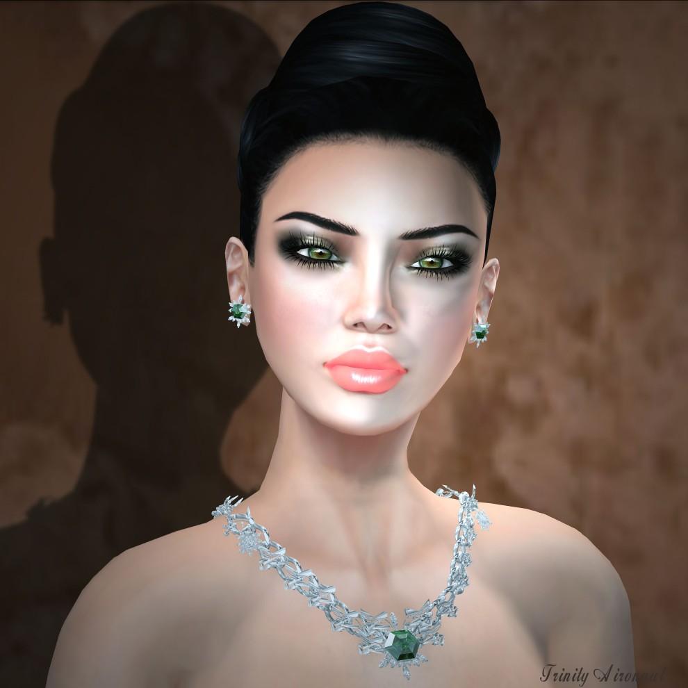 Lybra Winter Emerald Set