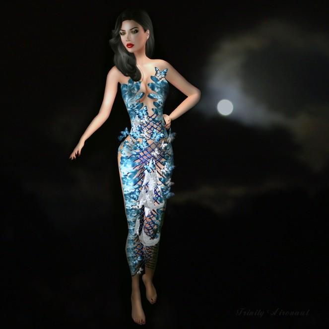 Zed Sensations Imaginary Gownb