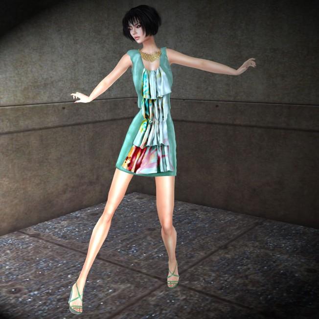 Glow Designs Spring Breeze Frill Dress