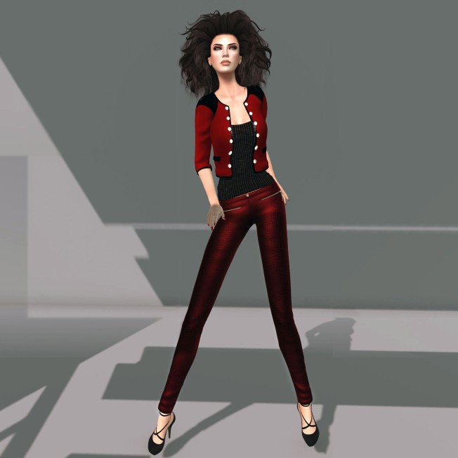 Prism Georgia by Journey - Red Leather
