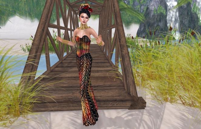 Baboom Mandala original mesh for Fashion for Change