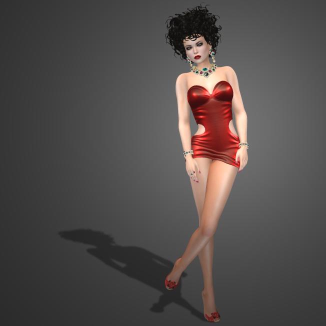 Entice Dangerous Woman Dress Red