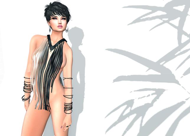 Elegance Boutique Fringe Suit