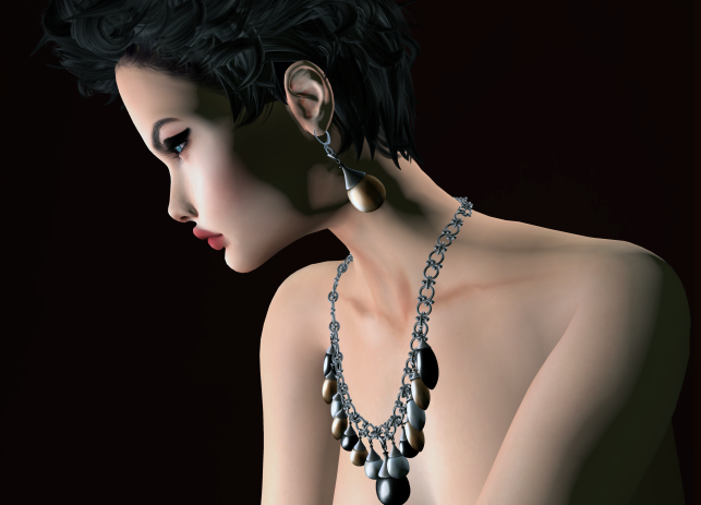 Chop Zuey Besos Collection -Silver