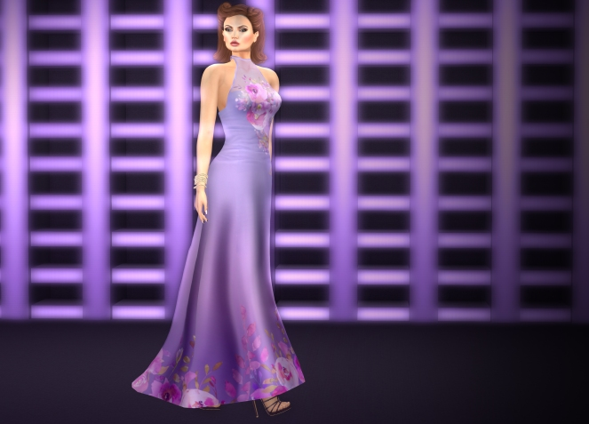 Purple Moon At Designes Showcase