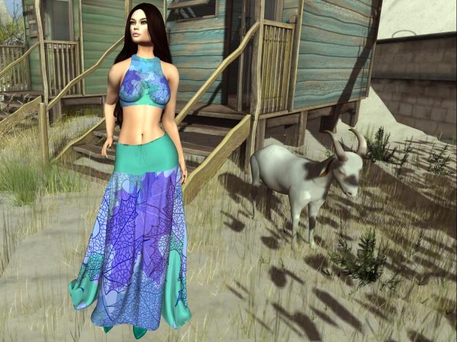 Pin Up Fiamma Outfit aqua