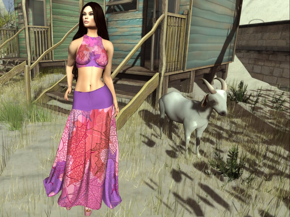 Pin Up Fiamma Outfit Lilac